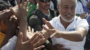Xanana pede paz para legislativas de sábado