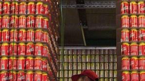 Vestígios de álcool encontrados na Coca-Cola e Pepsi