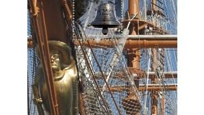 Selos e moeda assinalam 75 anos do navio 'Sagres'