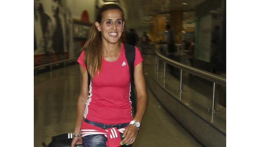Dulce Félix dedicou medalha aos portugueses