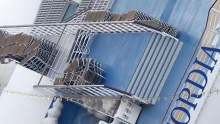 Costa Concordia naufragou na noite de 13 para 14 de Janeiro deste ano