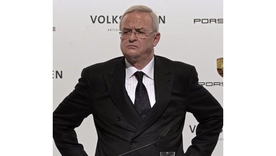 Martin Winterkorn, presidente executivo da Volkswagen