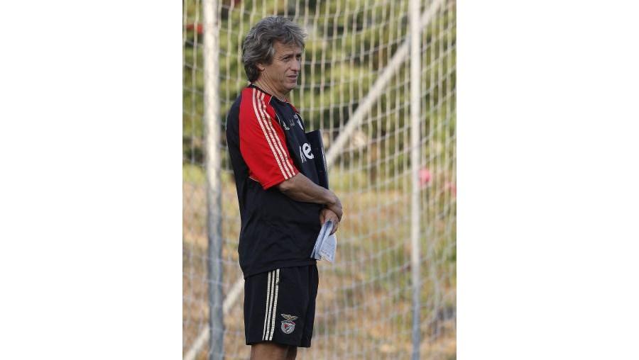 Jorge Jesus já prepara a nova época do Benfica