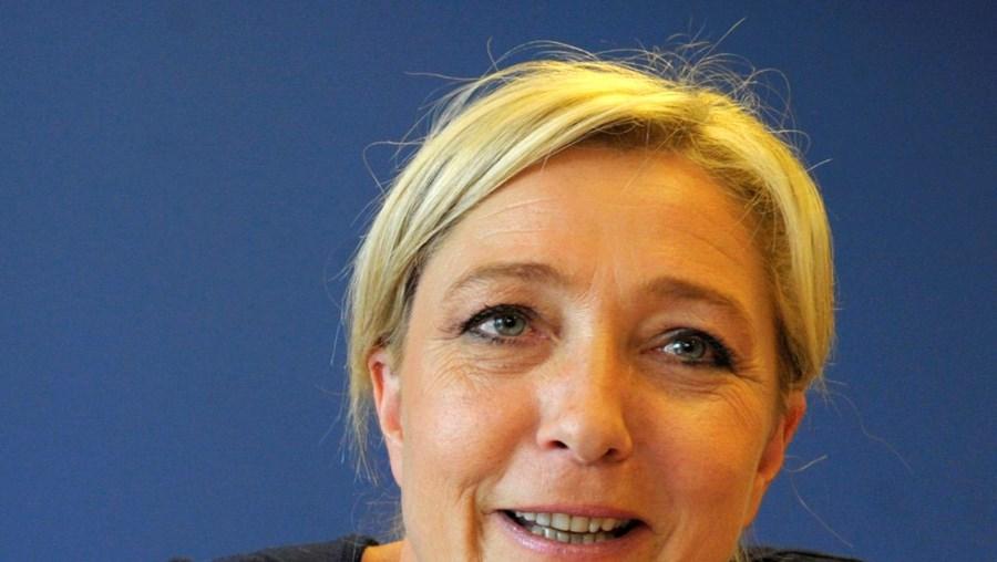 A líder da Frente Nacional