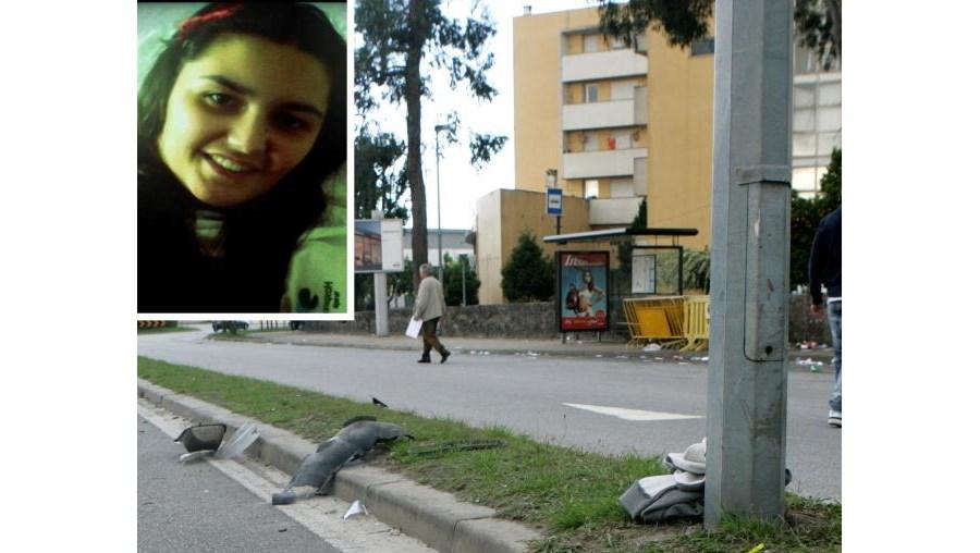 Ana Araújo (foto peq.) ficou gravemente ferida depois de ter sido atropelada, junto à Universidade do Minho. Continua internada no hospital