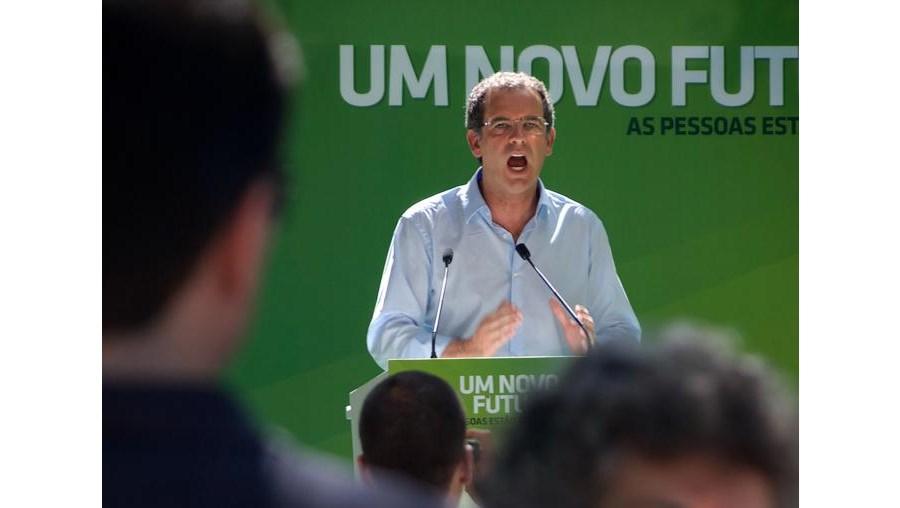 António José Seguro falava a militantes socialistas em Oliveira do Hospital