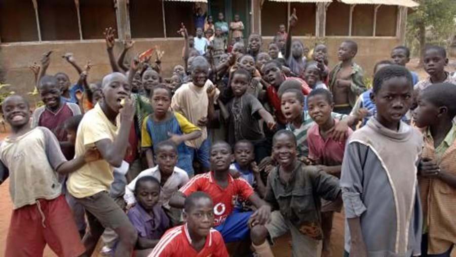 A Internation Primary School, em Moçambique, não estava equipada com uma rampa de acesso
