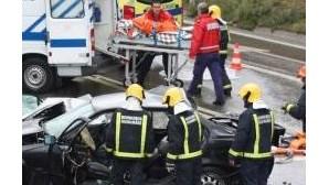 Leiria: Cinco crianças feridas em colisão com várias viaturas