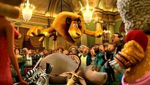 'Madagáscar 3' é já o filme mais visto do ano