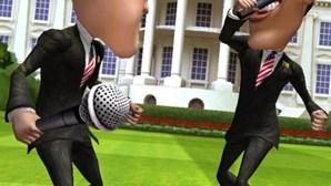 Jogo de vídeo põe Obama e Romney a lutar na Casa Branca (COM VÍDEO)