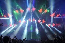 Primeira noite foi dedicada à música electrónica