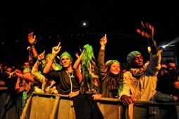 Público mostrou alegria no momento dos grandes concertos