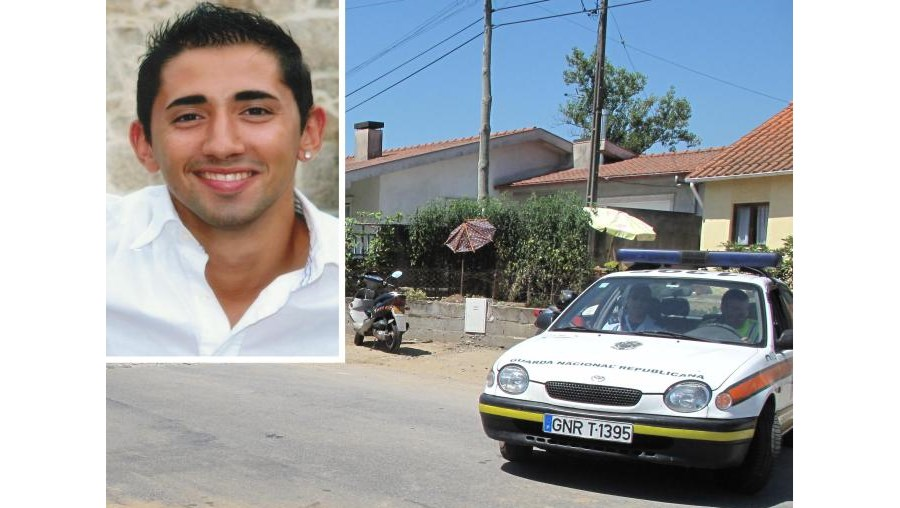 José Gonçalves (foto peq.) seguia de mota e embateu na carrinha de pão quando ia para a GNR
