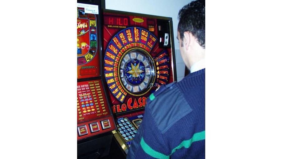 A GNR apreendeu 18 máquinas de jogo em 124 estabelecimentos comerciais no distrito de Viseu