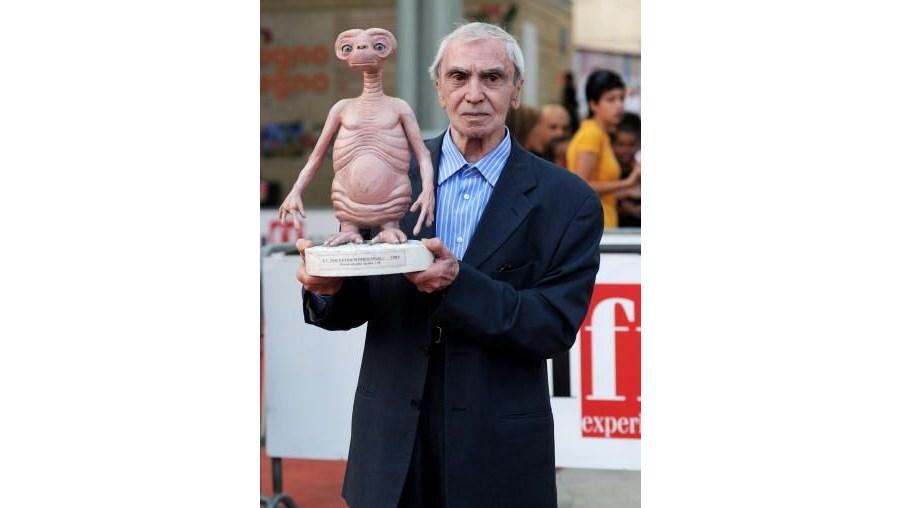 Rambaldi deu vida ao simpático 'E.T.', de Steven Spielberg