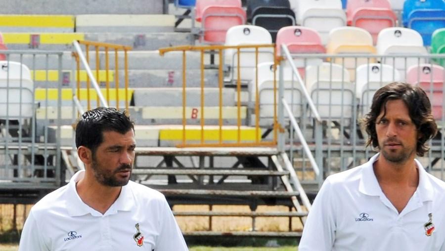 Sérgio Conceição dirigiu ontem a equipa no particular com o Louletano, que o Olhanense venceu (3-0)