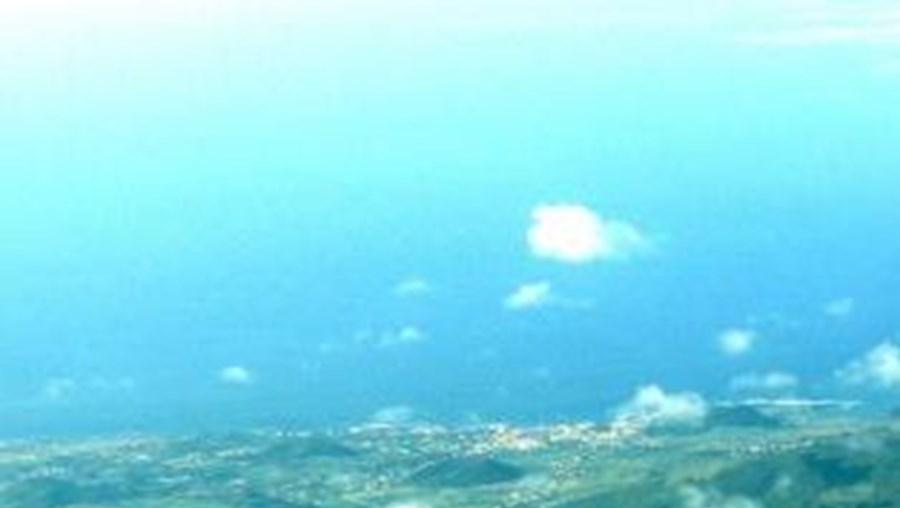 Ilha graciosa nos Açores