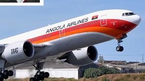Avião retido por dívida