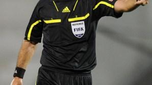 Carlos Xistra apita o Académica - Benfica