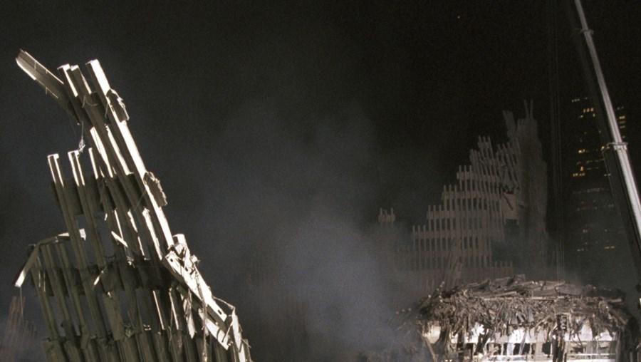 O colapso das Torres Gémeas