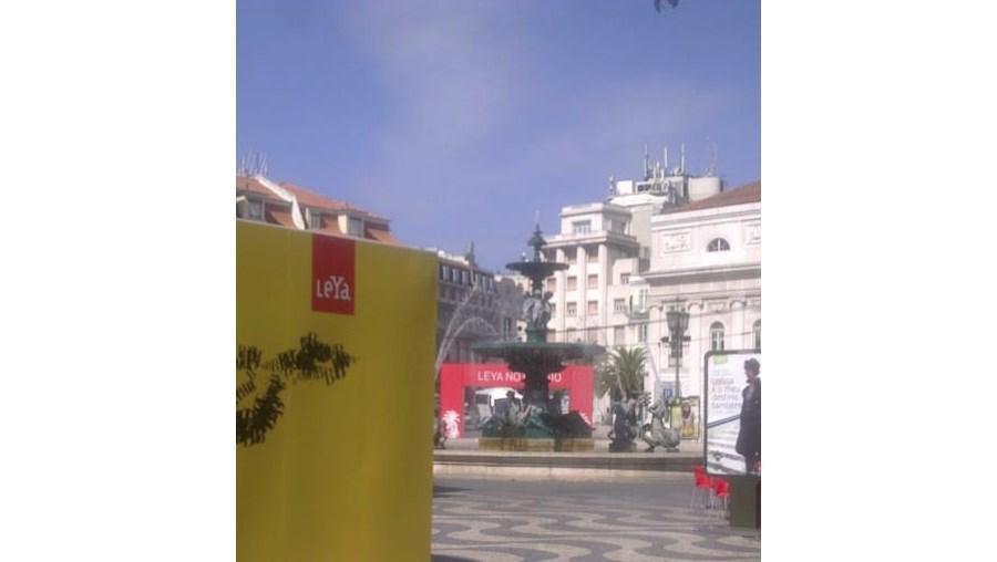 A Leya vai animar a Praça do Rossio durante todo este fim-de-semana com o Festival Literário que celebra o arranque do Ano do Brasil em Portugal