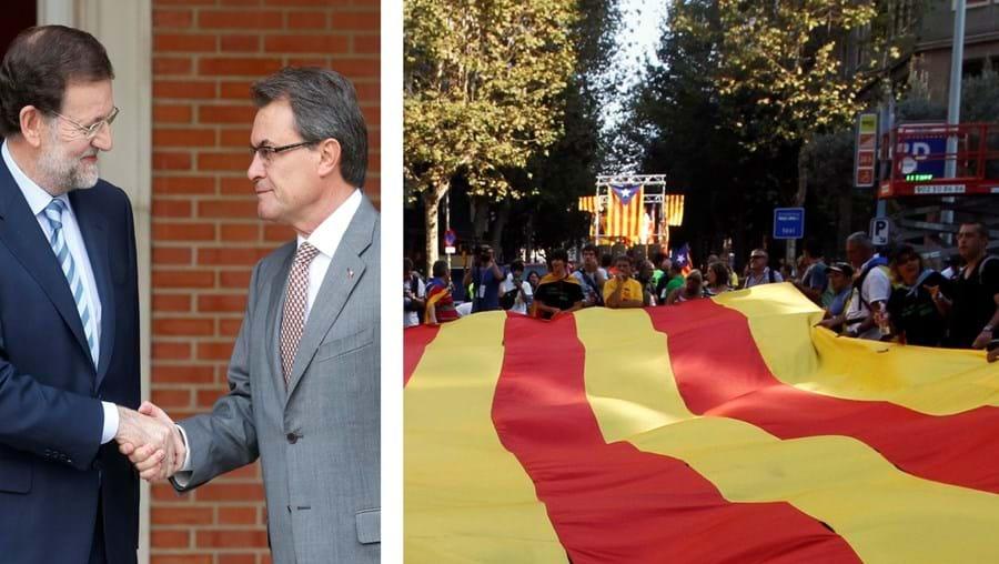 Artur Mas não conseguiu convencer Mariano Rajoy a dar mais autonomia fiscal à Catalunha