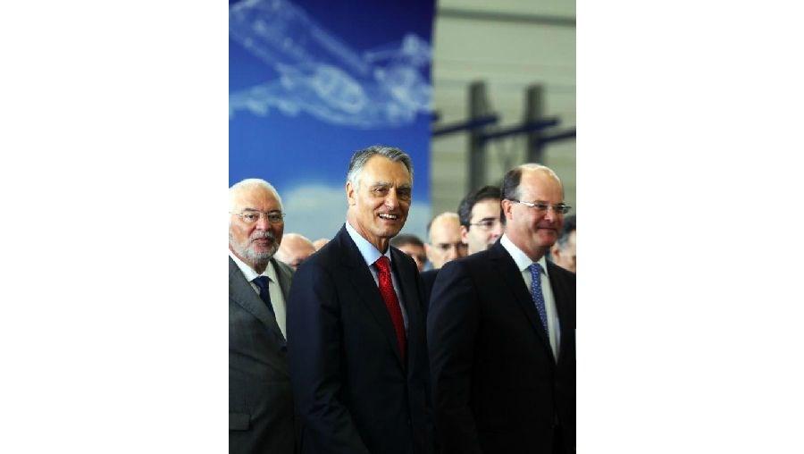 Cavaco inaugurou instalações da Embraer em Évora