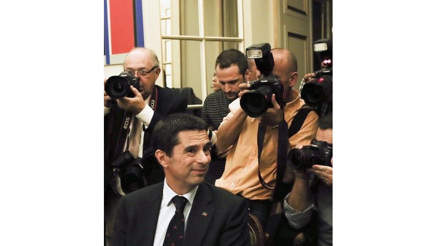 Vítor Gaspar, ministro das Finanças
