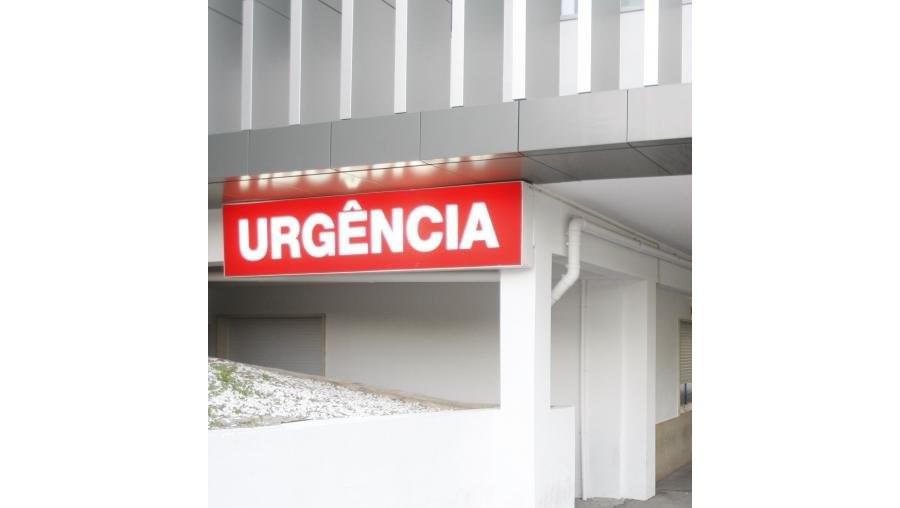 Ferido grave foi transportado para o Hospital de Coimbra