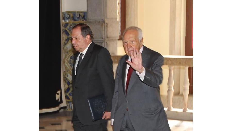 Mário Soares escusou-se a prestar declarações aos jornalistas