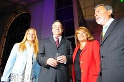 Margarida Marante também participou no lançamento do semanário 'Sol'