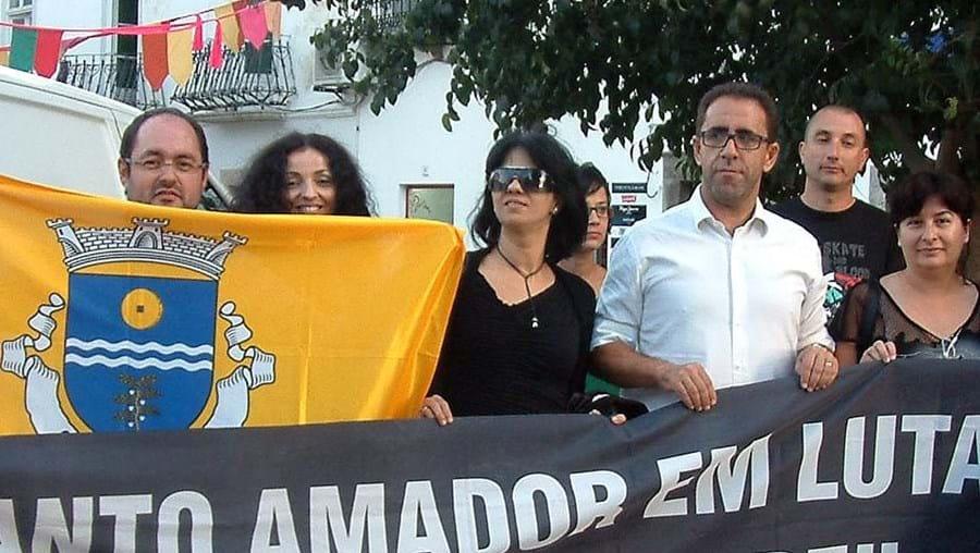 Cerca de 300 pessoas juntaram-se em Santo Amador, no concelho de Moura, depois de um desfile de carro por todo o concelho
