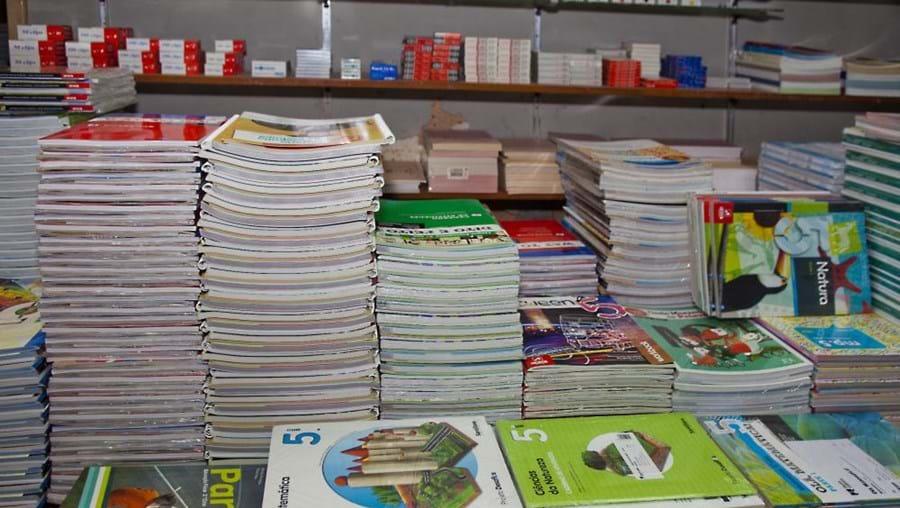 banco de manuais escolares, escola EB 2/3 Bento Carqueja, Oliveira de Azeméis