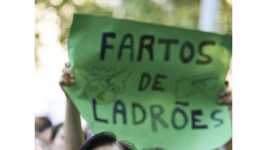 marcha, CGTP, protesto, desemprego