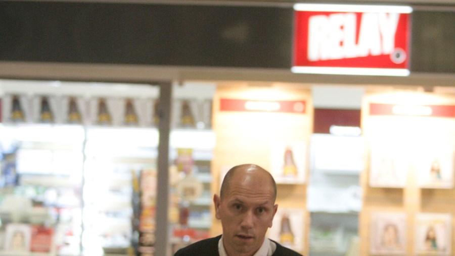 José Azevedo, ontem à noite, à chegada ao Aeroporto Francisco Sá Carneiro, no Porto