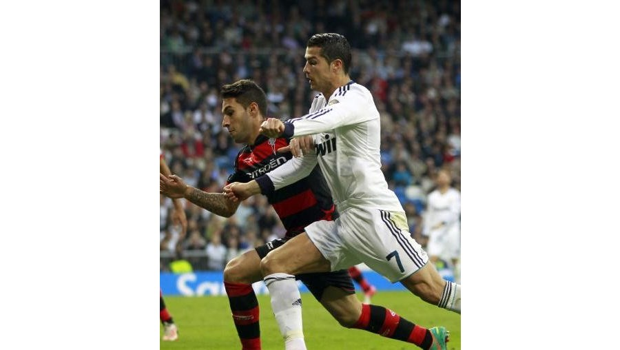 Ronaldo apontou o segundo golo do Real Madrid
