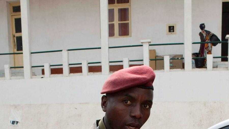Após ataque à base militar, a segurança foi reforçada no edifício do Estado-Maior, em Bissau