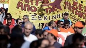 Grécia: 55 mil protestam contra austeridade