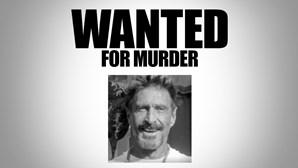 Fundador de antivírus McAfee procurado por homicídio