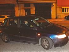 A 28 de Outubro de 2012, na chegada ao EPL. Vale e Azevedo regressa a Portugal depois de ter sido detido em Londres