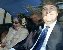 O antigo presidente do Benfica na companhia da mulher