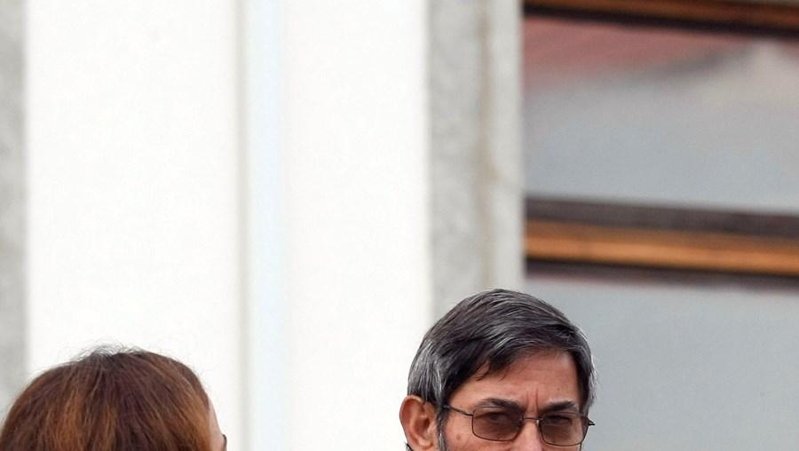 António Pereira, ontem, à saída do tribunal