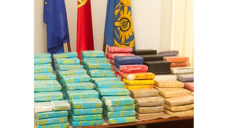 Cocaína estava embalada em pacotes de um quilo e acondicionada em sacos de viagem