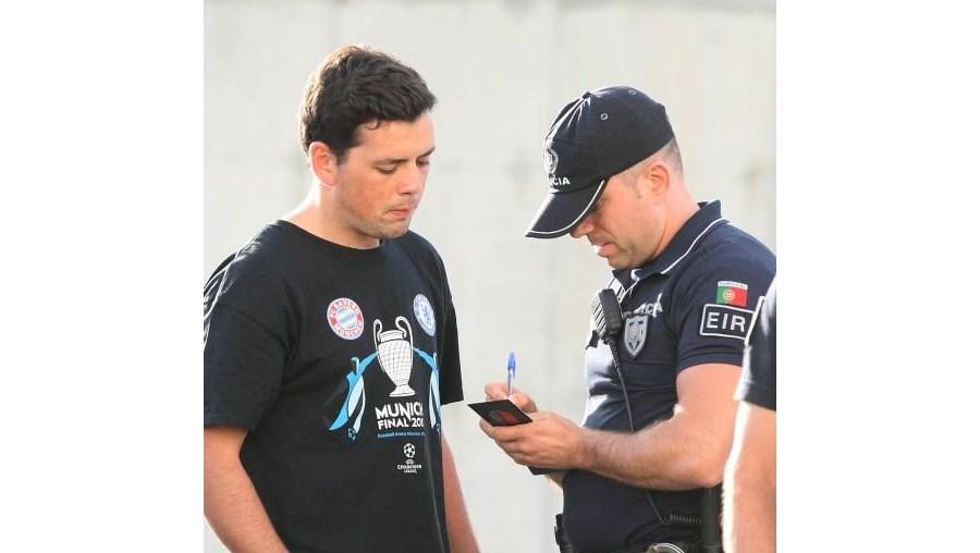 Pedro Afonso foi, na altura, identificado pela PSP