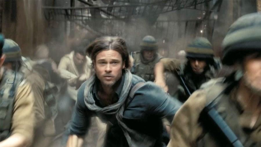 Brad Pitt empenha-se na luta contra uma ameaça global em 'World War Z'
