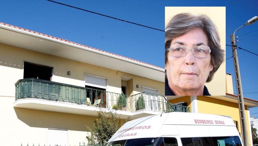 M.ª Brás (em cima) era amiga de Graça Ferreira, morta num fogo no 1.º andar da sua vivenda em Porto Salvo