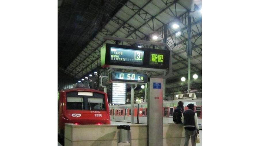 Suspeito foi detido na estação de comboios de Sintra