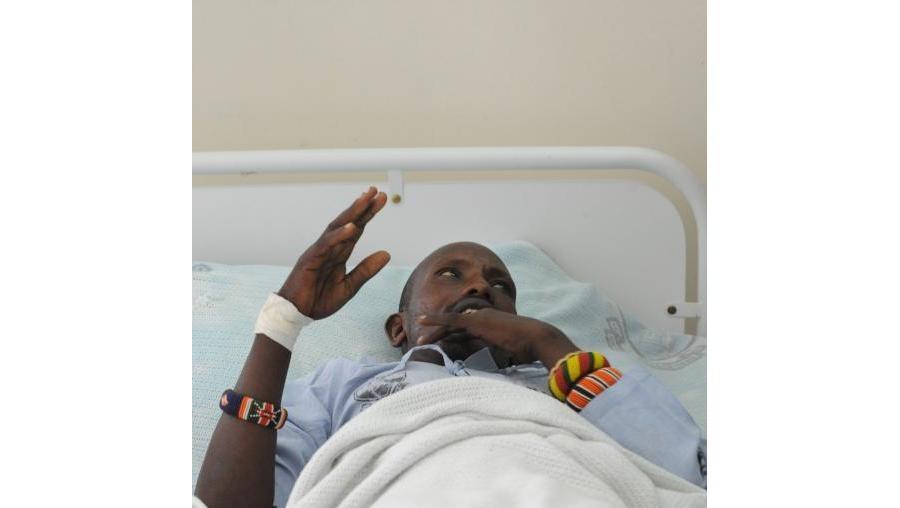 Além dos 42 mortos, nove polícias permanecem internados no hospital Kenyatta de Nairobi, e outros seis continuam desaparecidos