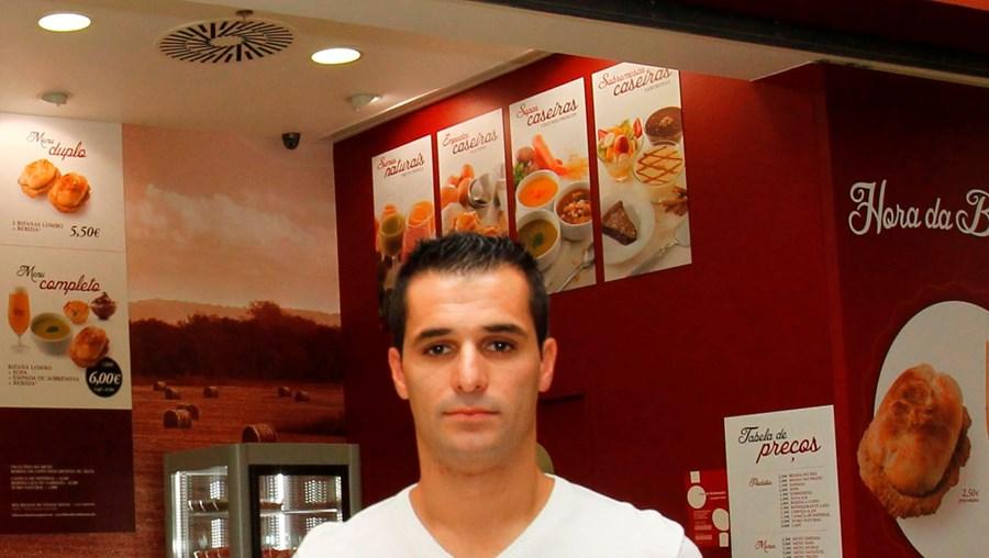 Rui Guerra é um dos três fundadores dos restaurantes Bifanas de Vendas Novas
