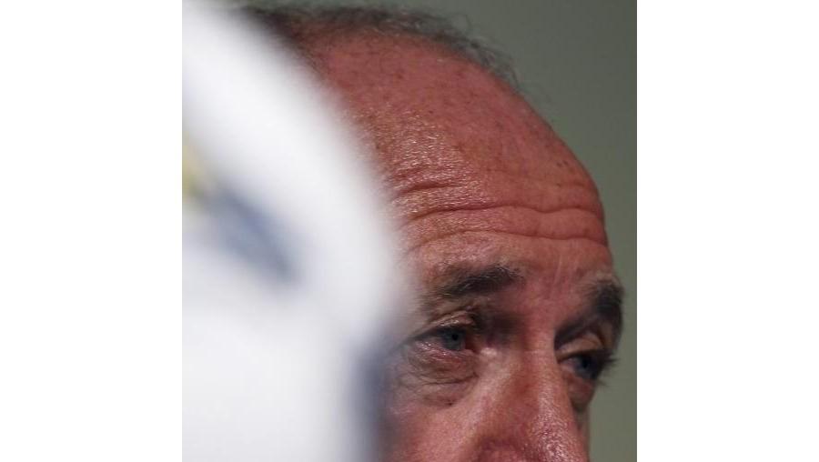 """A instituição bancária reagiu em comunicado, no qual lamentava """"o comentário infeliz do técnico Luiz Felipe Scolari"""""""